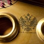 Pecar Gorizia - Particolare del telaio di un pianoforte a coda